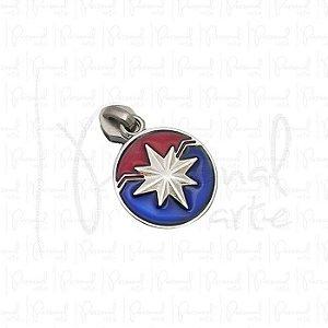 Puxador Capitão Marvel c/ carrinho - Prata