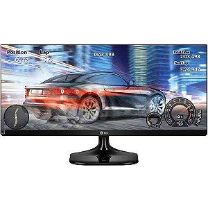 """Monitor LED 25"""" gamer LG 25UM58 IPS Ultrawide Full HD"""