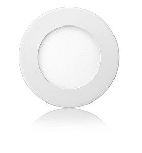 Luminária LED de Embutir Redonda 6W Branca Fria Bivolt - Elgin