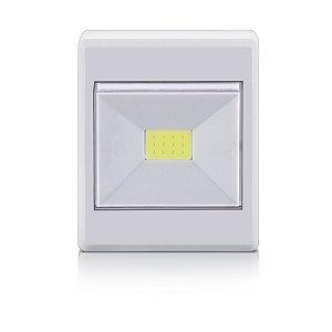 Mini Luminária Led Botão (Led Button) 3W Branca - Elgin