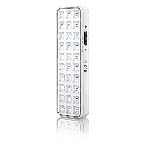 Luminária de Emergencia 30 LEDs Bateria Litio 2W - Elgin