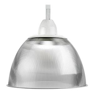 Luminária Prismática 22 Pol Alojamento Cone E-27 - Claron