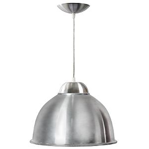 Luminária Prismática 12 Pol Pendente Alumínio E-27 - Claron