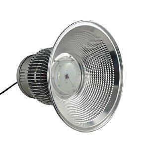 Luminária Industrial Led SMD Prismática Alumínio 150W
