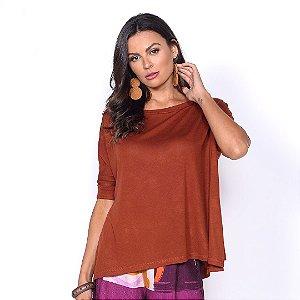REF:. 6991  Blusa em malha tricot 100% viscose