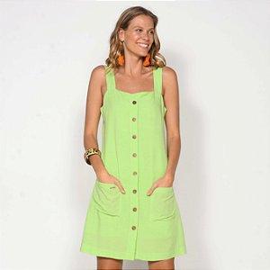REF:. 7080 Vestido Curto Verde