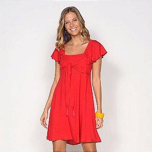 REF:. 7134 Vestido Curto Vermelho