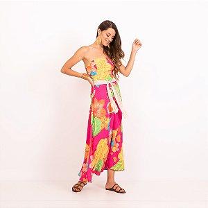 REF:. 7219  Vestido Begônias Pink