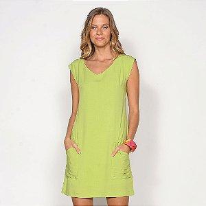 REF:. 7097  Vestido Curto Verde