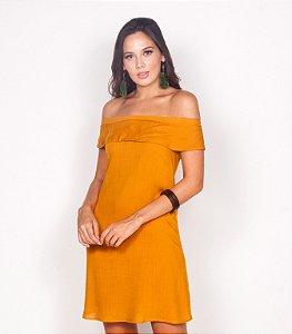 REF.: 6812 -  Vestido Evasê em viscose rústica
