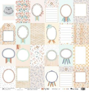 Papel Vegetal para scrapbook (My Wall) - My Memories Crafts