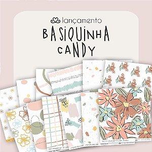 Kit de Papéis | Coleção Basiquinha Candy