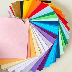 Catálogo de papéis sortidos