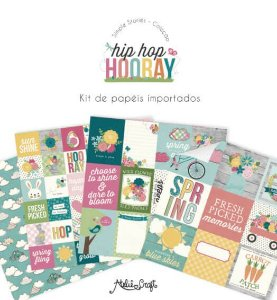 Kit de Papéis Coleção Hip Hop Hooray (Simple Stories)