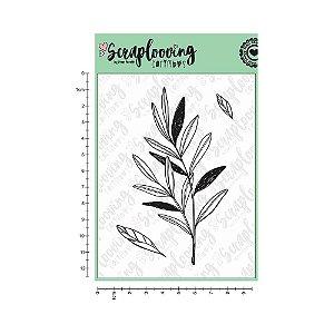 Cartela de Carimbo - Floral (Scraplooving)