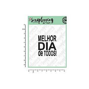 """Carimbo - """"Melhor Dia De Todos"""" (Scraplooving)"""