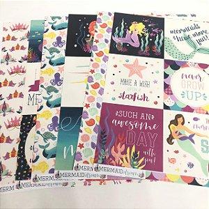 Kit de Papéis - Coleção Mermaid Dreams (Echo Park)