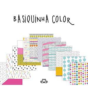 Kit de Papéis | Coleção Basiquinha Color AC