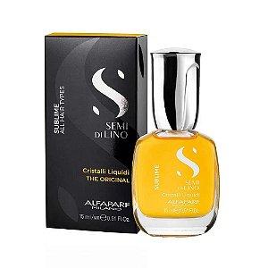 Óleo Semi Di Lino Sublime Cristalli Liquidi 15ml Alfaparf