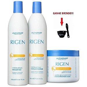 Shampoo, Cond e Máscara 500g Alfaparf Rigen Regenerating