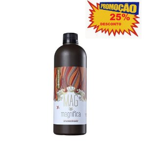 Mag Magnifica - Shampoo de Reconstrução- 1000ml  Passo 1