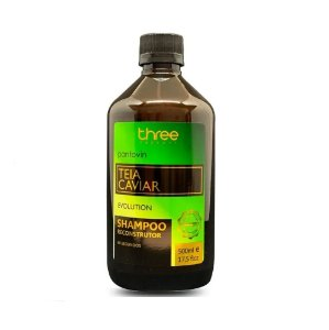 Shampoo Reconstrutor Pantovin Teia Caviar Three Therapy 500g