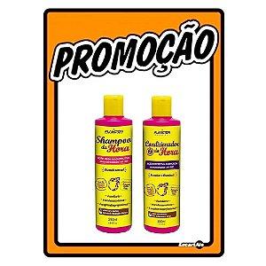 Kit Da Hora Plancton Shampoo e Condicionador 3 em 1 250ml