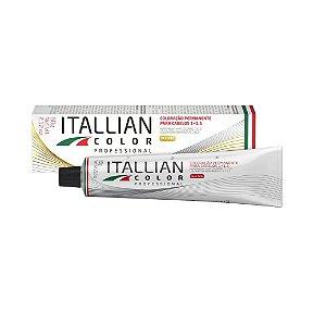 Coloração Itallian color 5.17 - Castanho claro marrom 60gr.