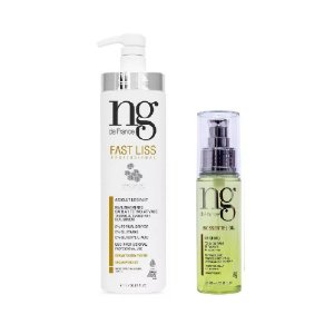 Kit Fast Liss 1L e Biossentiel Oil 60mL Ng de France