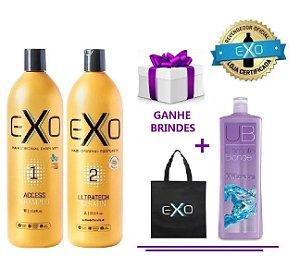 Exo Hair Alisamento Exoplastia Capilar 2x1000ML