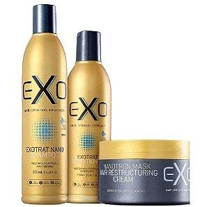 Exo Hair Exotrat Nano Kit De Manutenção Pós-progressiva