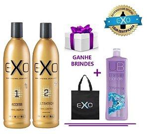 Exo Hair Alisamento Exoplastia Capilar 2x500ML