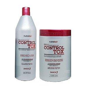 Kit Botox Nutra Hair Controltox Alisa E Trata