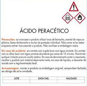 ÁCIDO PERACÉTICO 500ML