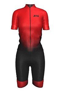 BERMUDA CICLISMO STN RACE RED FEM GG