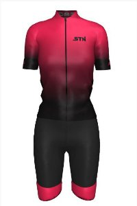 CAMISA CICLISMO STN RACE PINK FEM GG