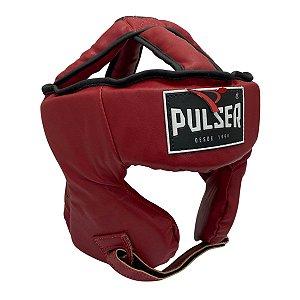 Capacete Proteção Cabeça Fechado Treino Pu - Vermelho - Pulser