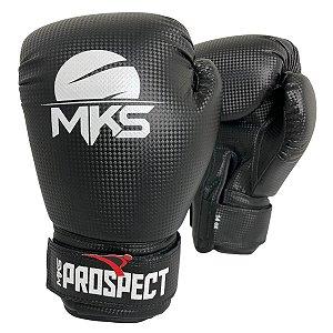 Luva de Boxe / Muay Thai 14oz Prospect - Preto - MKS