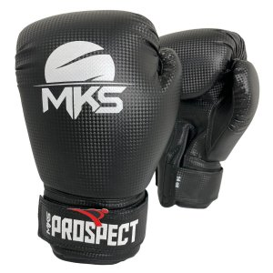 Luva de Boxe / Muay Thai 12oz Prospect - Preto - MKS
