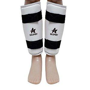 Protetor De Canela Caneleira Para Taekwondo Infantil - SulSport
