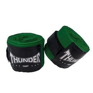 Par Bandagem Atadura Elástica 3mt - Verde - Thunder