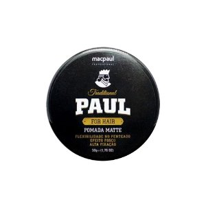 POMADA MATTE TRADITIONAL PAUL 50G
