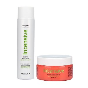 KIT SHAMPOO INTENSIVE 300ML + INTENSIVE MASK 250G