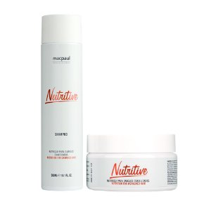 KIT SHAMPOO NUTRITIVE 300ML + MÁSCARA NUTRITIVE MASK 250G
