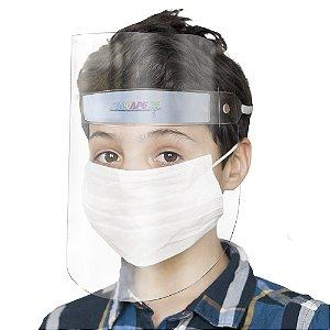 Face Shield Infantil SalvaPé Protetor Facial