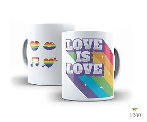 Caneca Amor é Amor - Love is Love