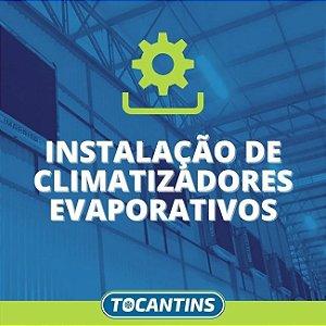 Instalação de Climatizadores Evaporativos em Araguaína