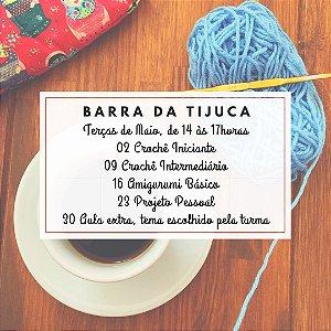 Curso de Crochê Barra da Tijuca - MAIO
