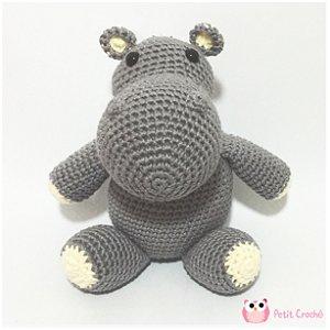 Amigurumi Hipopótamo