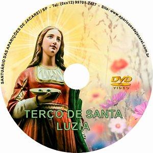 DVD TERÇO DE SANTA LUZIA MEDITADO